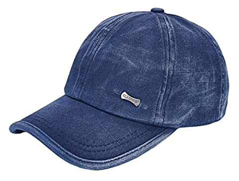 IL Caldo Mens Dome Army Sun Hats Adjustable Baseball Cap Tripper Newsboy Cap ,Blue