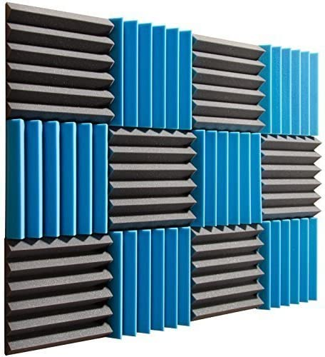 Pro Studio Acoustics Acoustic Wedge Foam Absorption Soundproofing Tiles