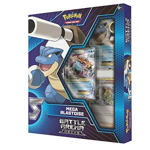 Pokemon 2018 Battle Arena Deck- Mega Blastoise (Pokemon Card Blastoise Ex)