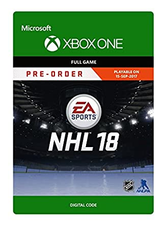 NHL 18 - Pre-load  - Xbox One [Digital Code]