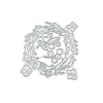 Schneiden Schablonen Papier Karten Sammelalbum Dekor Stanzschablonen Metall Schneiden Schablonen F/ür Weihnachten DIY Scrapbooking Album