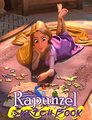 Rapunzel Disney Tangled Themed Sketch Book Drawing Book 8 5 X 11 I A Delight For All Kids World Princess 9781088473696 Amazon Com Books