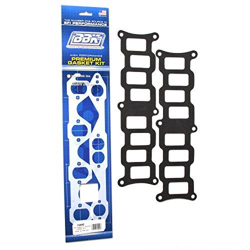 BBK 15492 EFI Intake Manifold Gasket Set - Upper - Lower Kit for Ford 302, 351 TFS Intake Manifold (Pack of 2)