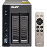 QNAP TS-253A (8GB RAM version) 2-Bay Professional-Grade Network Attached Storage, Supports 4K Playback (TS-253A-8G-US)