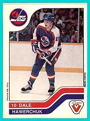 1983-84 Vachon #126 Dale Hawerchuk WINNIPEG JETS