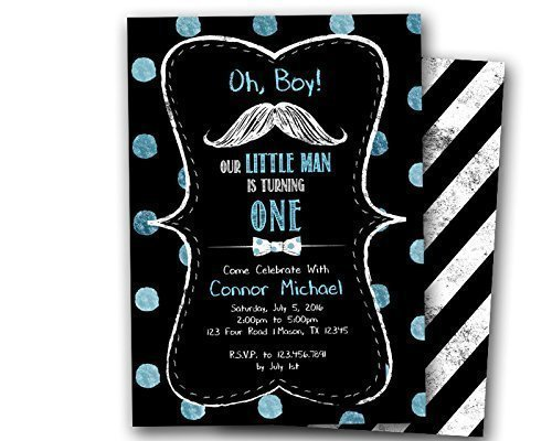 Amazon little man birthday invitations mustache bowtie one 1st little man birthday invitations mustache bowtie one 1st first filmwisefo