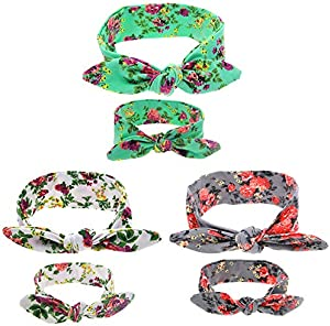 Sweepstakes: 3 Pack Mom and Me Headbands Rabbit Ears