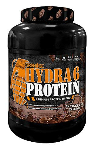 Grenade Hydra 6 Charge Protein Casein/Whey Isolate - Chocolate, 1.8 kg
