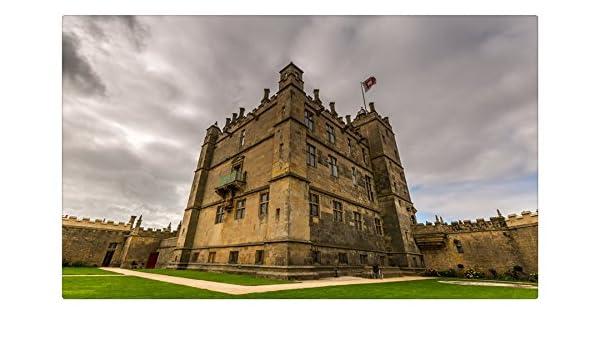 Reino Unido castillos Bolsover ciudades sitios de viajes postal Post tarjeta: Amazon.es: Oficina y papelería