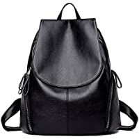 IBFUN Pu Leather Water Resistant Backpack for Women