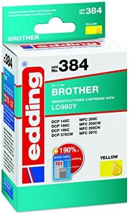 Edding 384 Remanufactured Ink Cartridges Pack Of 1 Bürobedarf Schreibwaren