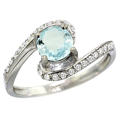 Diamond Accent Bypass Ring - 2
