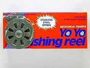 12 Mechanical Fisher's Yo Yo Fishing Reels (Flat Trigger Mo