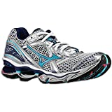 Mizuno Wave Creation 12 Running Shoes White/River Blue Women's US 6