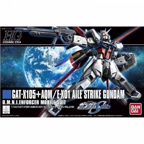 (Bandai Hobby HGCE Aile Strike Gundam Model Kit (1/144 Scale))
