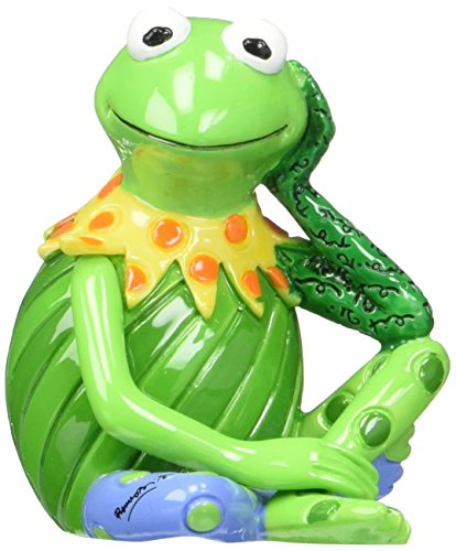 Enesco Disney by Britto Kermit The Frog 2.99-Inch Character Figurine, Mini
