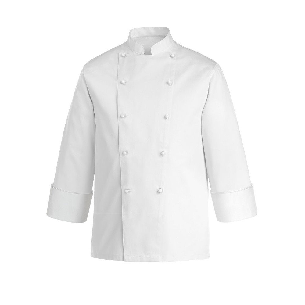 JOBLINE Veste Chef Cuisinier Taille XS JOB Blanc 100/% Coton