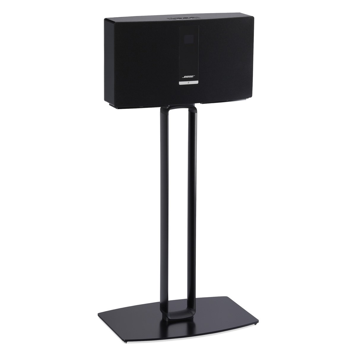 SoundXtra Floor Stand for Bose SoundTouch 30 - Single (Black) by SoundXtra