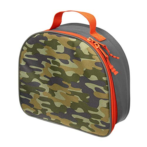 Orange and Green Camo Lunch Bag ()