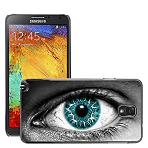 Super Stellar Slim PC Hard Case Cover Skin Armor Shell Protection // M00049391 aero azure creative eye // Samsung Galaxy NOTE 3