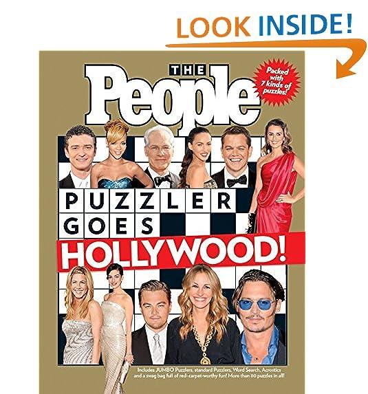 people magazine crossword puzzle book amazon com