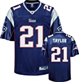 Fred Taylor Navy Reebok NFL Replica New England Patriots Jersey - Small