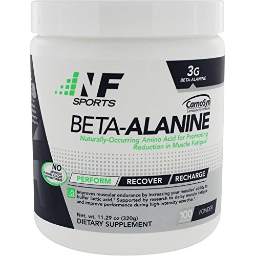 NF Sports Beta-Alanine – Naturally Occurring Amino Acid Promoting Reduction In Muscle Fatigue And Improved Performance - 100% Satisfaction Guaranteed