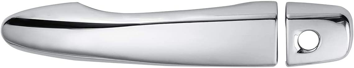 JenNiFer 8Pcs Chrome Abs Car Door Handle Cover Trim for Nissan Qashqai J11 2014-2018