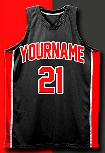Amazon.com: Personalizado Baloncesto Jersey 13 x 19 Cartel ...