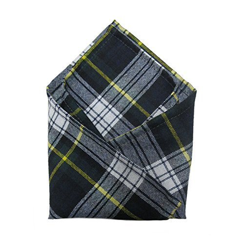 Ingles Buchan Mens Scottish Tartan Pocket Square Dress Gordon