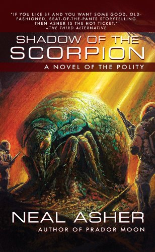 book cover of Shadow of the Scorpion