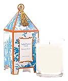 Seda France Classic Toile Mini Pagoda Box Candle, French Tulip, 2 Ounce