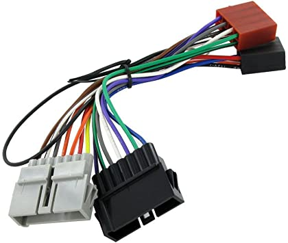 Amazon.com: Wiring Harness Adapter ISO Lead for Dodge From 1984 to 2001 ISO  Stereo Plug: AutomotiveAmazon.com
