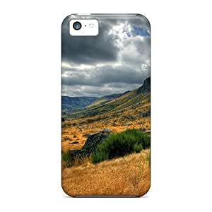 5c Scratch-proof Protection Case Cover For Iphone/ Hot Nature Phone Case