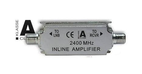 SAT-Inline amplificador, In-Line de Fibra Óptica, 950 – Módulo de