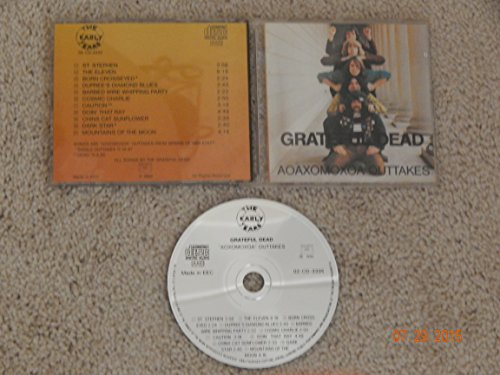 The Grateful Dead AOAXOMOXOA Outtakes: The Early Years (1965-1969) 02-CD-3335 Made in EEC (1990 Printing) Rare Error Misprint AOXOMOXOA