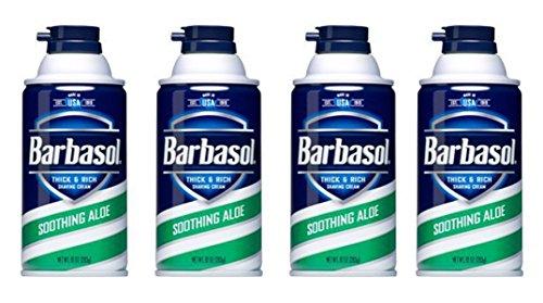 Barbasol NCVBHDGH Soothing Aloe Thick & Rich Shaving Cream 1