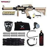 Cheap MAddog Tippmann Cronus Tactical Corporal Paintball Gun Package – Black/Tan