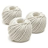 Norpro 100% Cotton 220 Foot Rolled Butcher's Twine, Set of 12