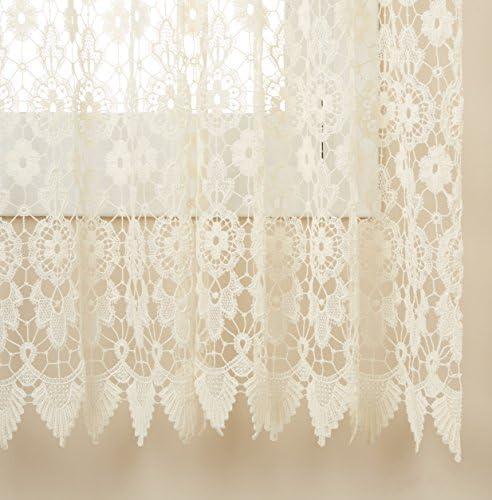 Best window curtain panel: Lorraine Home Fashions 01106-63-00010 Medallion Tailored Window Curtain Panel