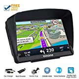 Car GPS Navigation,Vinone GPS Navigation System with Built-in Lifetime Maps,FM Car Navigation and Spoken Turn-by-Turn Directions