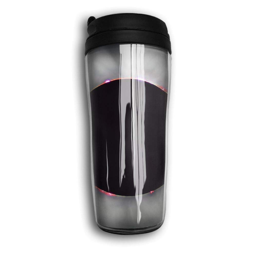 Solar Eclipse Pattern Travel Mug Coffee Thermos Stainless Steel Flask Water Bottle
