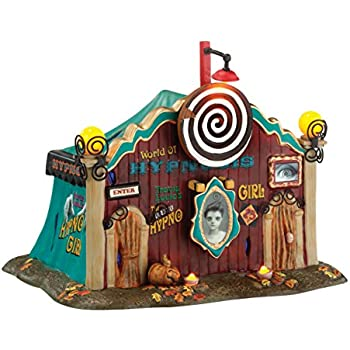 Amazon.com: Department 56 Snow Village Halloween Dolly's World of ...