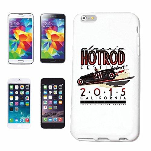 """cas de téléphone iPhone 7S """"CLASSIC HOTROD FESTIVAL 2015 CALIFORNIA HOT ROD MOTORSPORT SPORT AUTOMOBILE RACING USA AMÉRIQUE ÉTATS-UNIS"""" Hard Case Cover Téléphone Covers Smart Cover pour Apple iPhone e"""