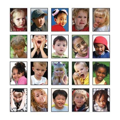 Carson Dellosa KE-845020 Photographic Learning Cards Facial Expressions Photographic Learning