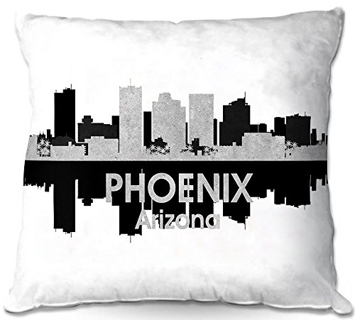 Cheap  DiaNoche Designs ODP-AngelinaVickCityIVPhoenixAZ1 City IV Phoenix Arizona Outdoor Patio Couch Throw Pillow,..