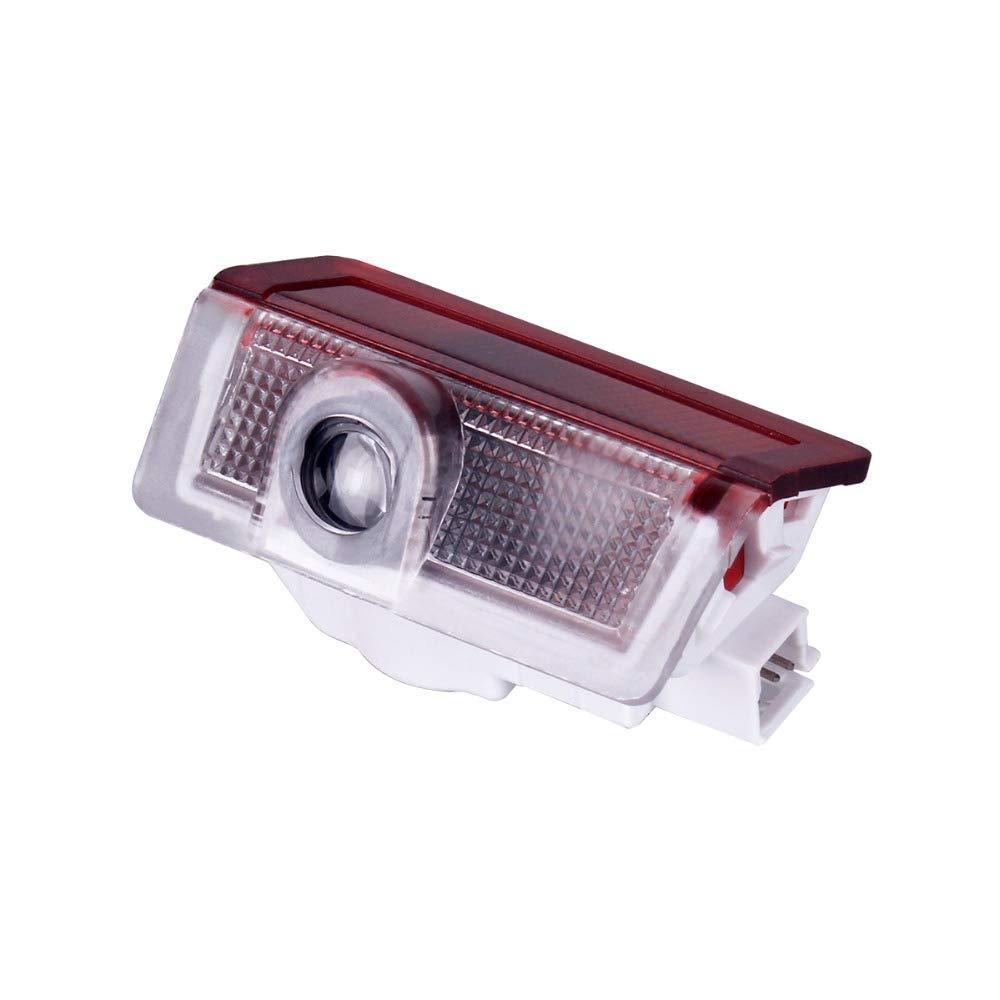 Projecteur de Porte de Voiture Fant/ôme Ombre Logo Lumi/ère Bienvenue laser pour W166 W212 lumi/ère W246 W176 W205 X164 Benz Classe B Classe C Classe E Classe GL GLC GLE GLS GLA 2PC