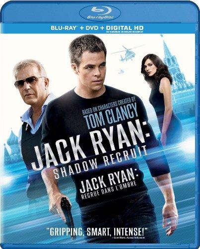 Jack Ryan: Shadow Recruit [Blu-ray + DVD]