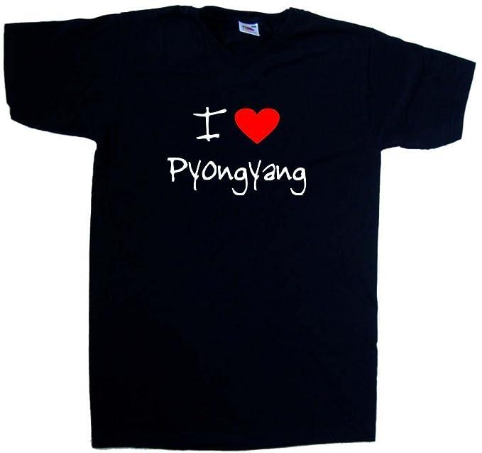 I Love Heart Pyongyang T-Shirt