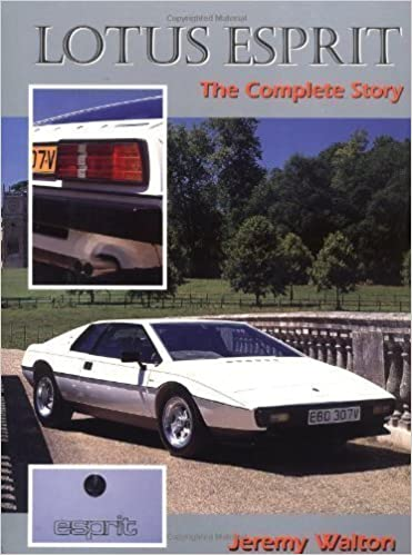 Lotus Esprit: The Complete Story New Edition by Walton, Jeremy published by The Crowood Press Ltd (1997): Amazon.com: Books